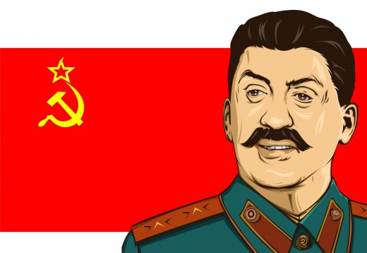 Stalin's totalitarian government has been widely condemned
