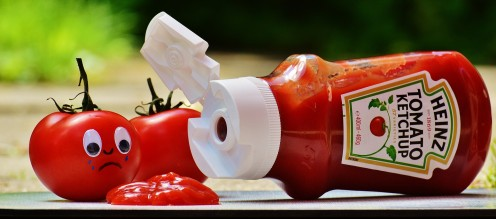 A lot of people like ketchup but ironically hate tomatoes.