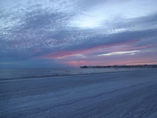 Sunset on the Gulf Coast of Florida