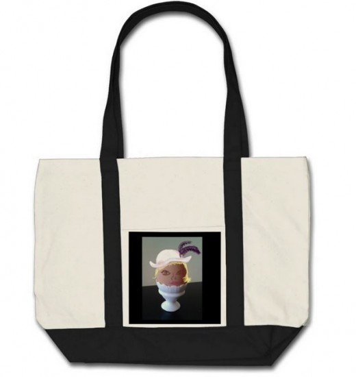 Tote Bag Designed by me on Zazzle