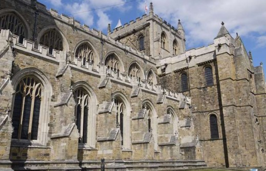 Ripon - Aet Hripum - Cathedral presides over one of the smaller cities of England