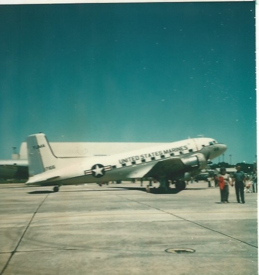 A USMC C-117, Randolph AFB, TX, May 1977