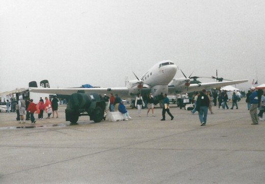 A BT-67, Andrews AFB, MD, May 2000.
