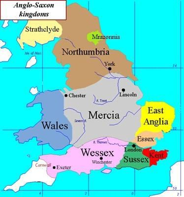 Mercia England Map.Alternate Histories Offa Of Mercia And The Peril Of Weak