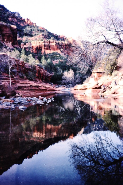 Fabulous Oak Creek Canyon near Sedona