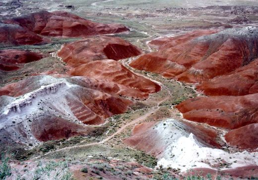 Amazing colors of the Painted Desert