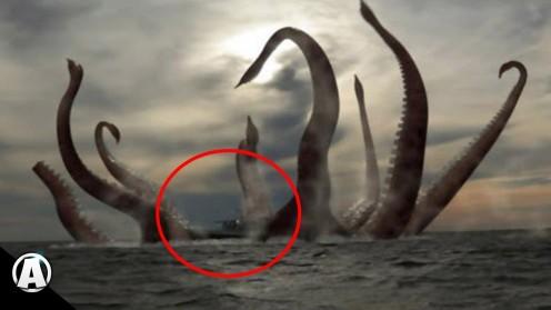 Legendary sea monster (40–50 feet) in length