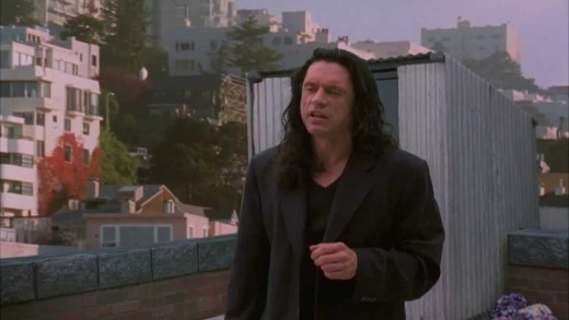 The film's writer, director, producer and lead actor Tommy Wiseau - a man as mysterious as his accent...