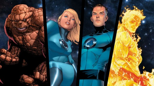 The Fantastic Four were mutated by cosmic rays