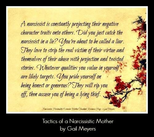 Tactics of a Narcissistic Mother