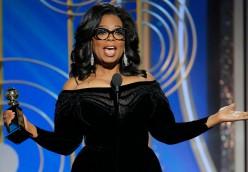 Wearing Black Breaks Silence at the 2018 Golden Globe Awards