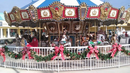 Merry Go Round at Foley, Al.