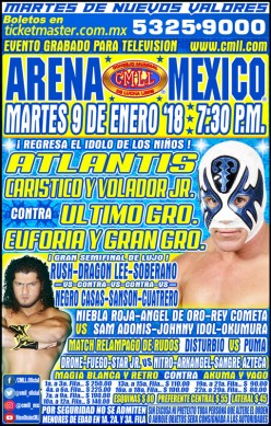 CMLL Tuesday: Return of Atlantis