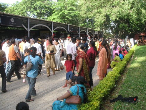 Wine Show at Lalbagh.