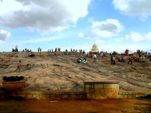 The Rock & Tower of Kempe Gowda 300 year old ruler of Bangalore