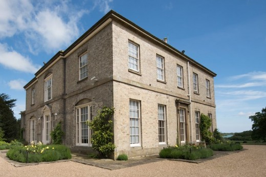 Another prime example of Italianate Georgian architecture - Wassand Hall near Hornsea, open to the public as are many fine buildings in Yorkshire and owned by various preservation societies. This an independently-owned edifice