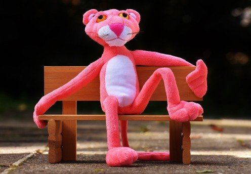 Despite the name, the real Pink Panthers aren't as cute and fuzzy as this guy.