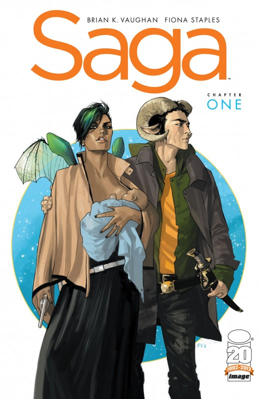 Cover of SAGA issue ONE