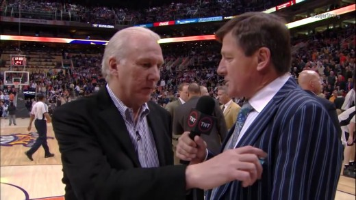 Craig Sagers, one of the most iconic reporters in NBA history that we as fans of the sport truly miss. He was a good sport for the career of disrespect that makes him famous