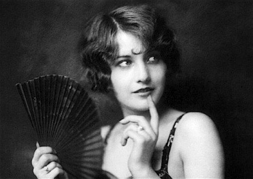 Barbara Stanwyck in her youth.