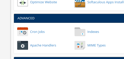 The Cron app on the cPanel page of my host. Note that icon and name vary from host to host.