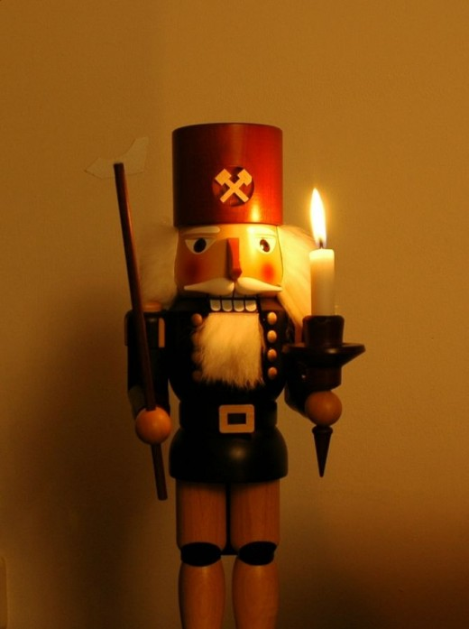 Nutcracker made in Seiffen (Germany)