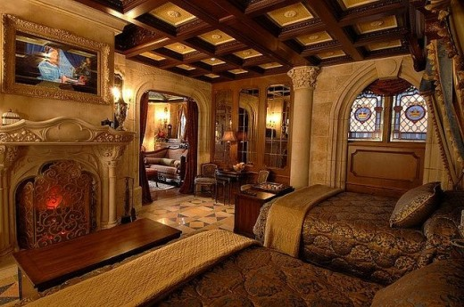 The Cinderella Castle Suite Disney Honeymoons