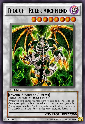 Thought Ruler Archfiend