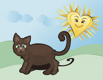 Keep your cat out of the hot sun!