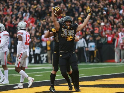 Iowa obliterated No. 3 Ohio State 55-24. The lopsided upset most likely ended any hopes of a playoff birth for OSU.