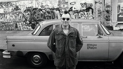 """Taxi Driver."" A Scorsese masterpiece."