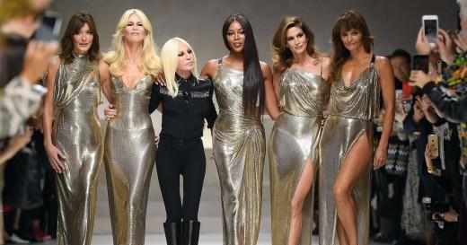 Versace 2017 Runway Top Fashion Designers