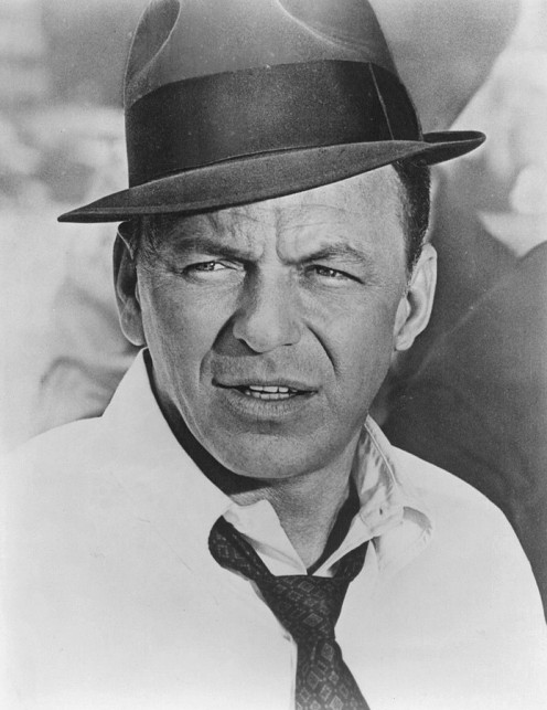Frank Sinatra as Tony Rome. This man, even when he wasn't on stage, commanded respect.