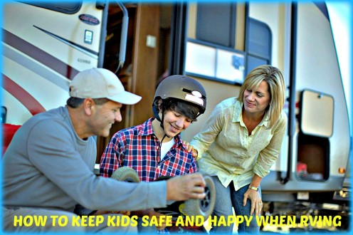 How to Keep Kids Safe and Happy When RVing