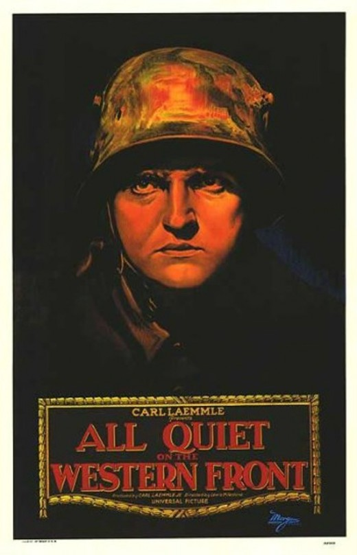 All Quiet on the Western Front theatrical release poster.