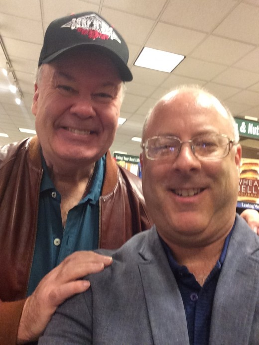 "With Dennis Haskins, ""Mr. Belding"" from ""Saved by the Bell."""