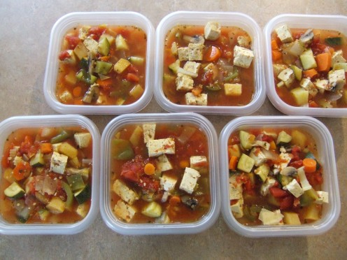 Great easy and healthy lunch idea!