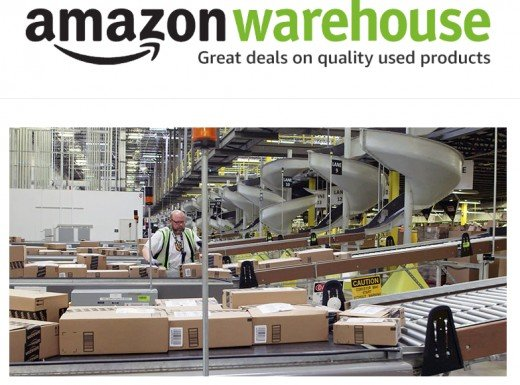 Amazon Warehouse sells quality used products and rents out used textbooks.