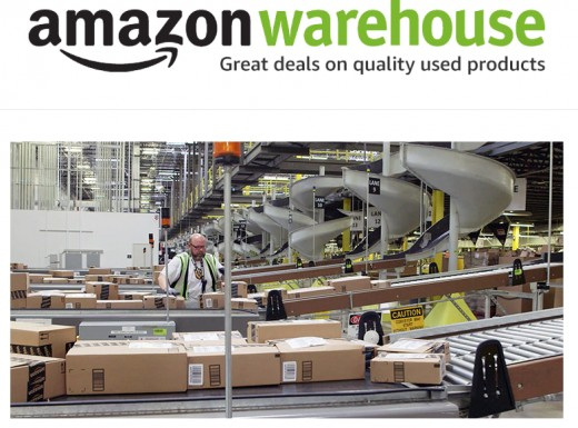 Amazon Warehouse is a business of Amazon that sells quality used products and rents out used textbooks.