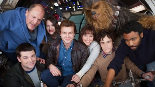 """The cast of """"Solo."""""""
