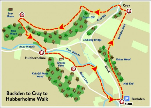 Enjoy a pleasant if rigorous walk around Upper Wharfedale and Langstrothdale courtesy of the local newspaper, the Craven Herald. Many regional newspapers publish walks of varying lengths