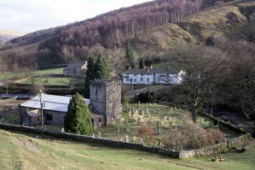 Buckden at the foot of Buckden Pike, a step along the way with views to kill for