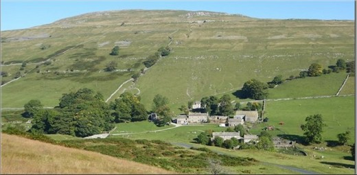Back in Upper Wharfedale again, we're at Yockenthwaite on the way back to our starting point