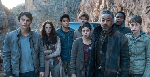 Maze Runner: The Death Cure (movie) featuring Thomas and the gang.