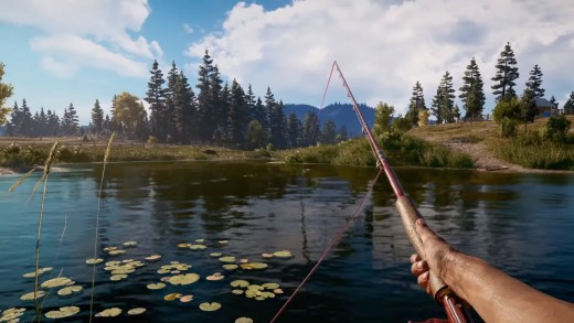 Ubisoft's addition of mini-games, like fishing, shows that they're willing to experiment with thier game.