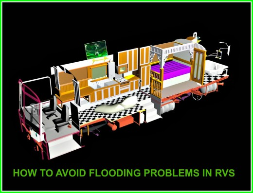 How to avoid flooding problems in recreational vehicles.