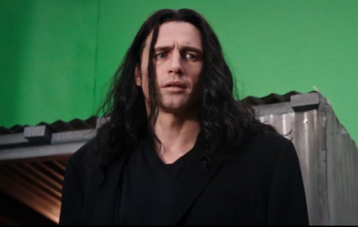 "James Franco as Tommy Wiseau, ""The Disaster Artist"""