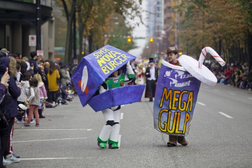 Halloween Parade 2015 in Vancouver