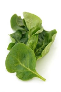 Spinach is a natural source, high in potassium.