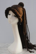 How to Make a Wet Felted Hippy Boho Dreadlock Festival Hat